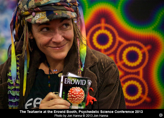 Teafaerie at Psychedelic Science conference by Jon Hanna ©2013 Jon Hanna