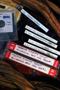 McKenna Audio Tapes, photo by Jon Hanna