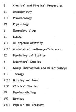 Erowid Psychoactive Vaults A Bibliography Of L S D