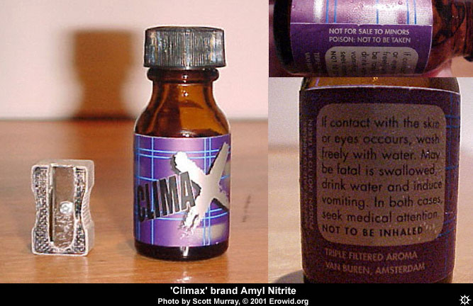 Erowid Chemicals Vaults : Images : amyl nitrite