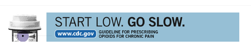 CDC Start Low Go Slow Campaign