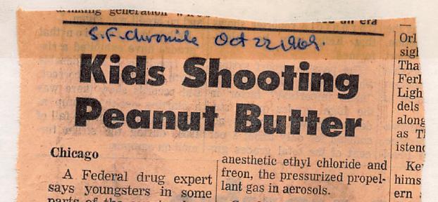 Kids Shooting Peanut Butter News Headline