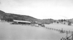 The Hardison Homestead, Flume Gulch, MT