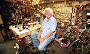 "The ""Godfather"" in his lab 2001"