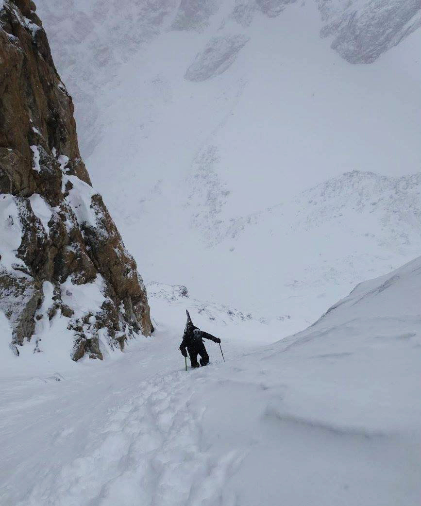 Lil' me in the steeps!