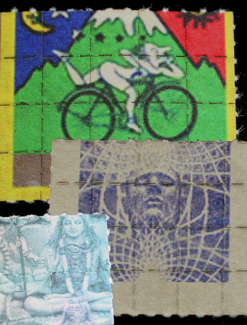 Bicycle Day Blotters by Jon Hanna ©2010 Jon Hanna