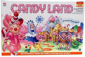 Hasbro's Candy Land - box image