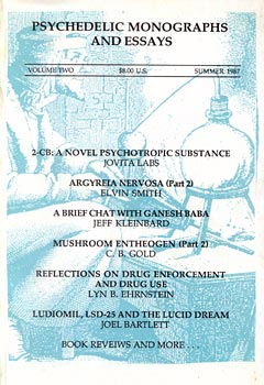 psychedelic monographs and essays volume 5 The konformist: k2k1 april 2001  about disinformation® 5  publisher and editor of psychedelic monographs and essays.