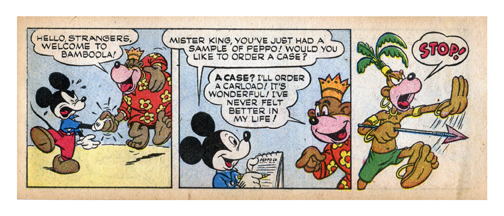 mmmm 27 - 1950's Mickey Mouse becomes drug dealer to whole continent